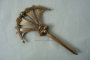 Art Deco Hairpin