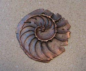 copper ammonite
