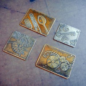 etched stamped metal