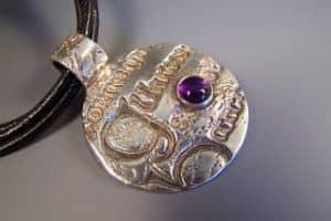 Book of Kells pendant